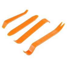 MAXTUF 4 шт. автомобильное дверное устройство для снятия обивки Pry Bar & панель обрезки клип плоскогубцы для снятия крепежей набор инструментов
