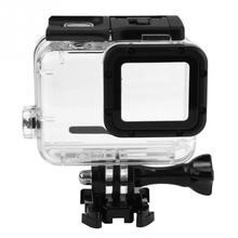 Housing Case for GoPro Hero 6 5 Black Waterproof Case Diving Protective Housing Shell 40m for Go Pro Hero Hero 6 5 Camera  &7 lanbeika for gopro hero 6 5 touchbackdoor diving waterproof housing case 45m for gopro hero 6 5 go pro5 gopro6 gopro hero6