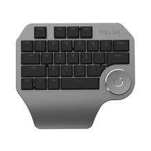 Delux T11 Designerแป้นพิมพ์สมาร์ทDial 3กลุ่มที่กำหนดเองคีย์สำหรับWindows Mac OS & Design Software