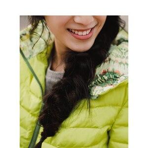 Image 5 - INMAN printemps automne à capuche ample décontracté manteau court femmes doudoune