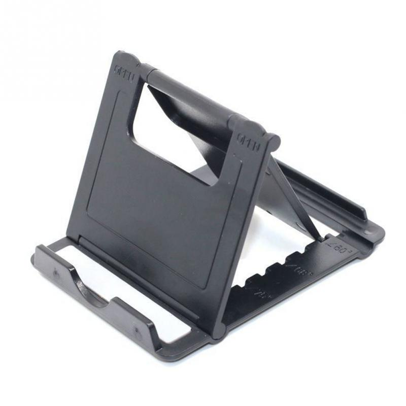 Portable Fold Non-Slip Desk Phone Holder Pad Mount Stand  Bracket SupportTablet Stand For IPad