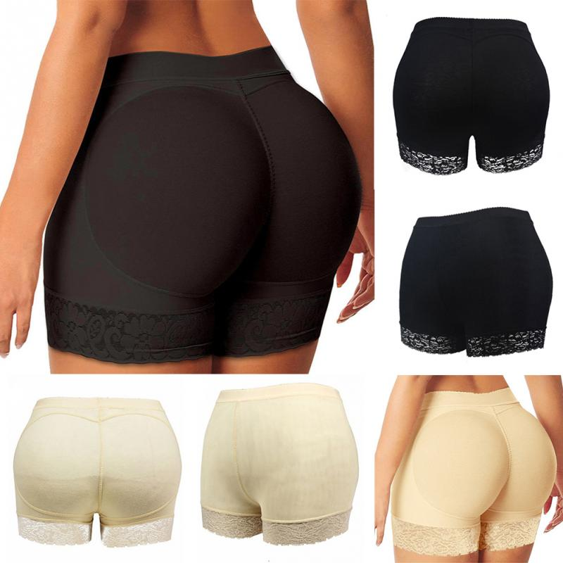 de49adb22c5 Sexy Women mid rise booty Butt Enhancer padded hip and buttock hip booster  boxer boyshort padded
