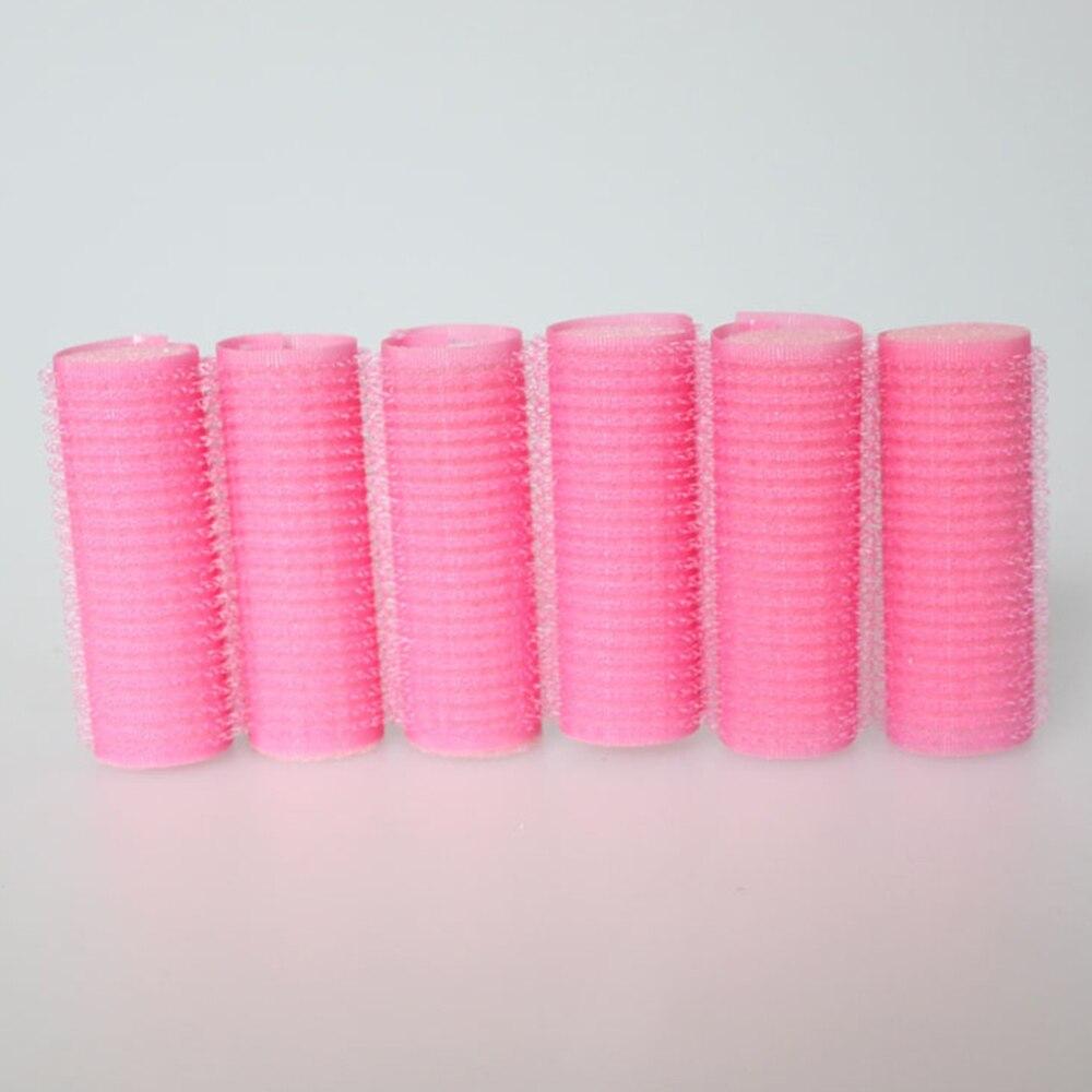 6PCS Hair Roller Hair Curling Bun Bendy Rollers DIY Magic Hair Makers Self-Adhesive Roller Curl Tools