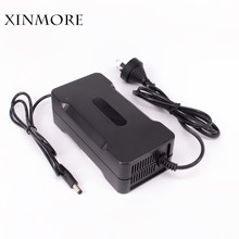 XINMORE Charger 42V 4A Scooter Lithium Li-ion Battery Charger Bike AC-DC 36V 4A for Switch Bicycle Electric Tool XLB Plug(China)