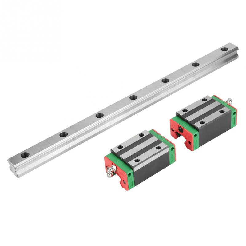 2Pcs HGR20 400mm Linear Guide Rail Linear Rail Block Slide Carriage CNC Router guia linear with 4pcs Rail Block Ball Screw New star wars figures jedi chewbacca han solo darth vader leia legoing jango fett obi wan models & building toys blocks for children