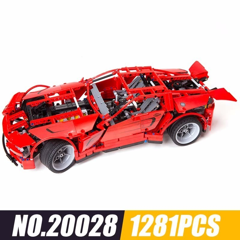 20028 And Technology Series Sports Car Assembling Spelling Insert Alpinia Building Blocks Plastic Children Toys 1281pcs20028 And Technology Series Sports Car Assembling Spelling Insert Alpinia Building Blocks Plastic Children Toys 1281pcs