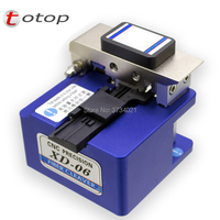 OTOP High precision fiber cleaver Leather cable hot melt welding tool fiber cutter fiber optic cleaver