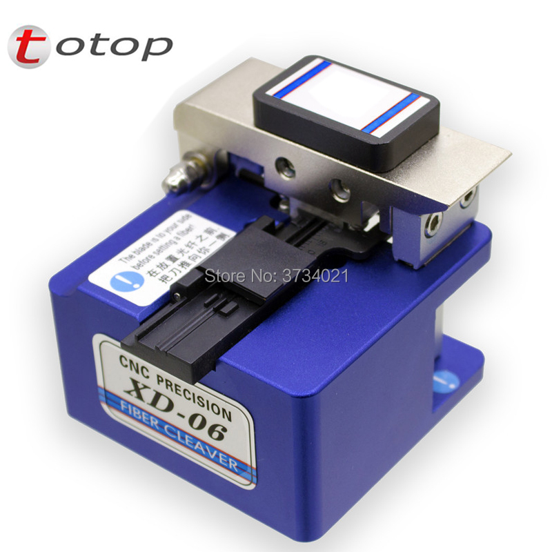 OTOP haute précision fibre couperet en cuir câble thermofusible outil de soudage coupe-fibre fibre optique couperet