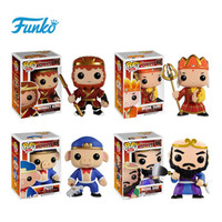 Original FUNKO POP Monkey King Sun Wukong pig model Action Figure Toys for Friend Birthday Gift Collection For Model