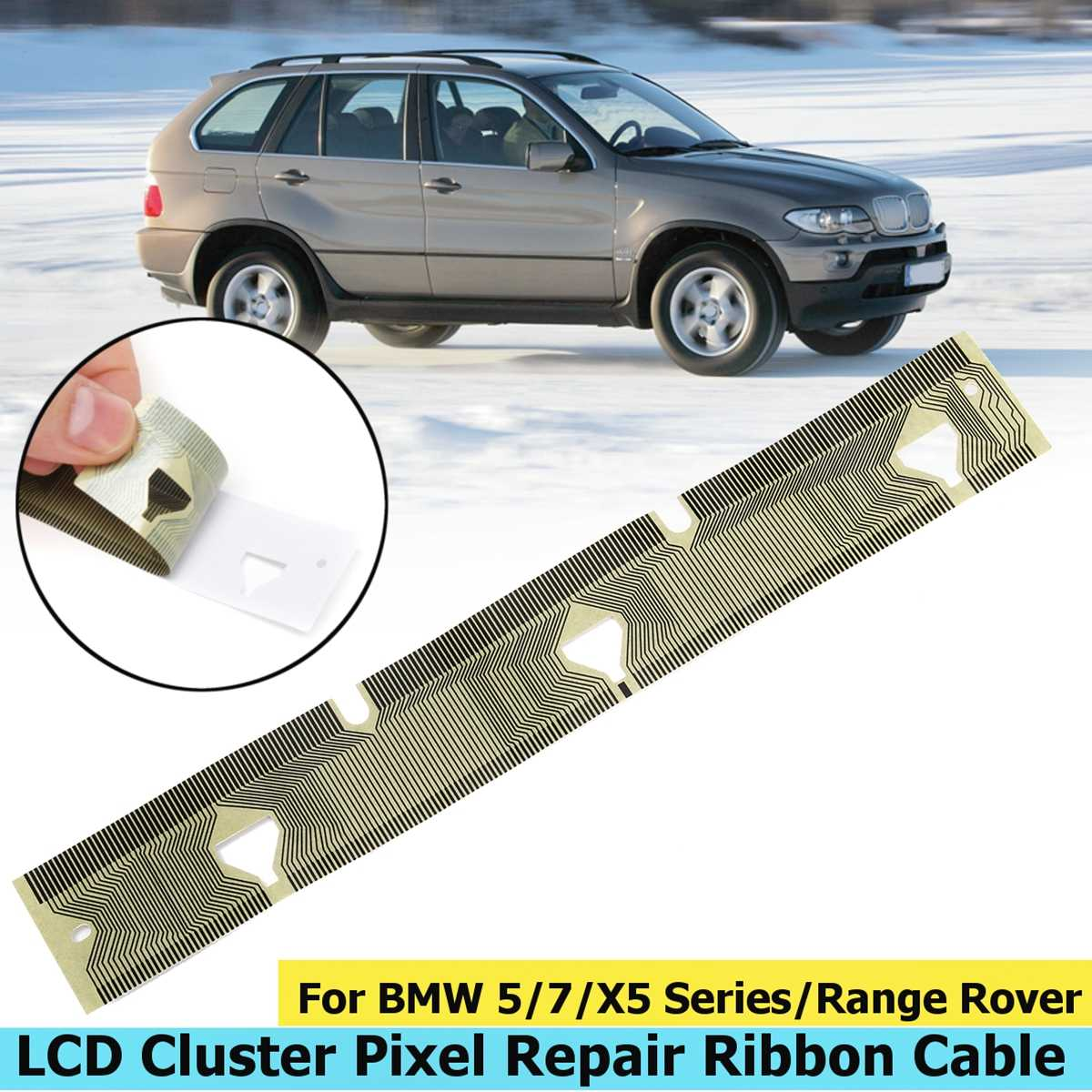 1 pc Dashboard Instrumentenpaneel Lcd Lint Kabel Voor BMW E38 Pixel Reparatie E39 E53 X5 Snelheidsmeter