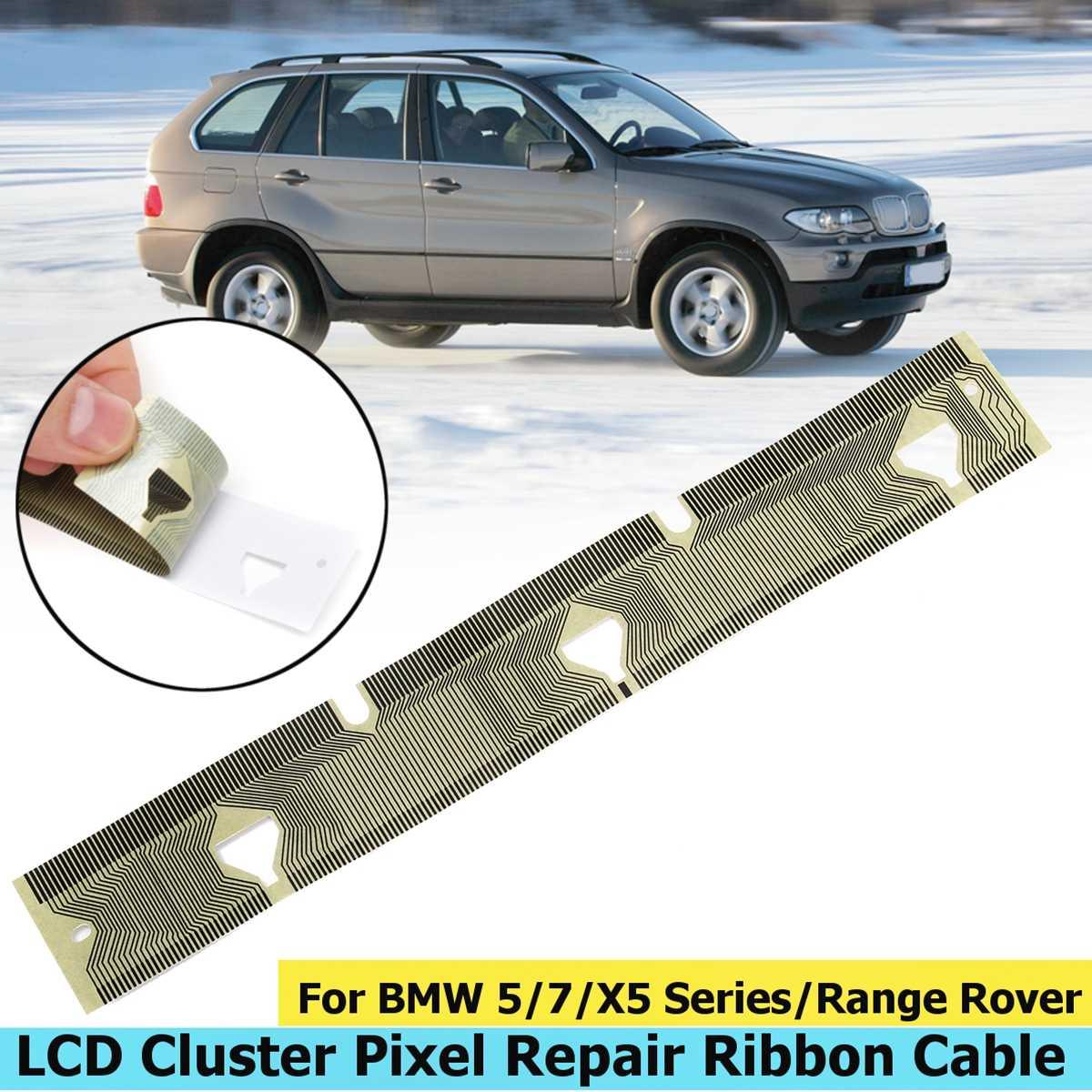 1 pc tableau de bord tableau de bord tableau de bord LCD affichage câble ruban pour BMW E38 Pixel réparation E39 E53 X5 compteur de vitesse