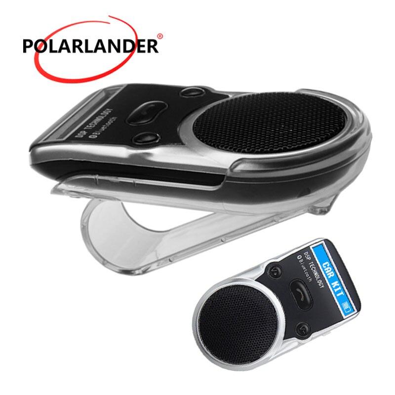 Récepteur AUX à énergie solaire haut-parleur mains libres adaptateur sans fil gratuit écran LCD pour allume-cigare USB Kit de voiture Bluetooth
