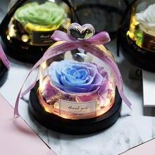 Rose in a glass. Pure Magic!💓