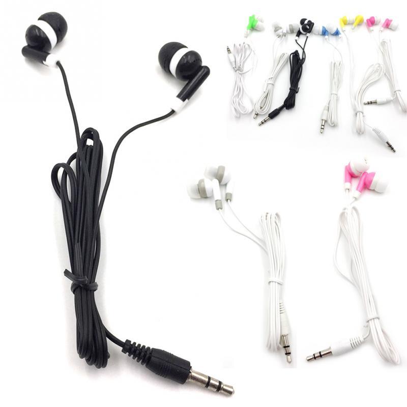 Wired In-ear Earphone Earbuds Stereo for Sport Noise Isolating Headset with Mic for iphone Samsung Mobile phone Universal #25(China)