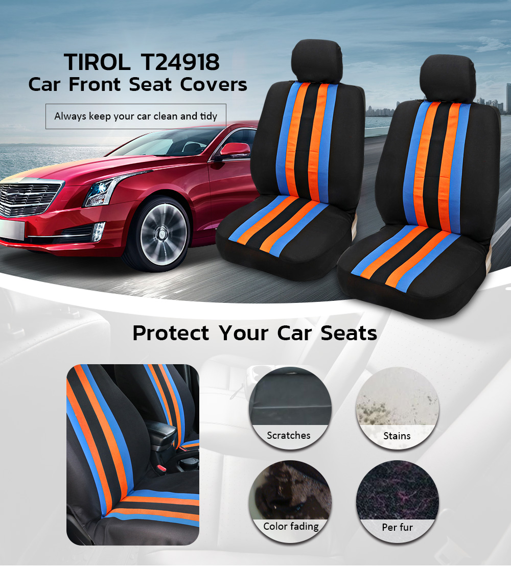 TIROL Sponge-Protector Front-Seat-Cover Interior-Accessories Car-Styling Universal Breathable