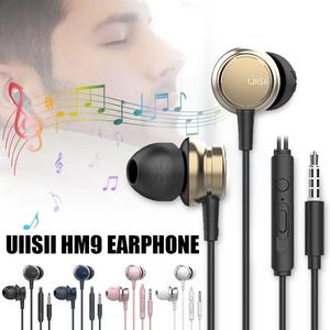 Image 5 - Portable Earphones Subwoofer E sports Game Wired Noise Reduction Dynamic Subwoofer Music Metal Earbuds With Mic Hands free Calls