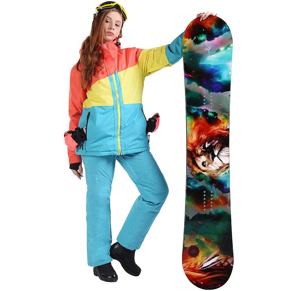 SAENSHING Ski Suit Women Waterproof 10K Snowboard Jacket Ski Pants Breathable Thermal Skiing Snowboarding Suits Winter Snow SetsSAENSHING Ski Suit Women Waterproof 10K Snowboard Jacket Ski Pants Breathable Thermal Skiing Snowboarding Suits Winter Snow Sets