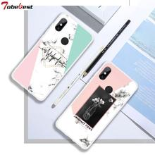 Marble Soft Silicone Cases For Xiaomi Redmi Note 7 6 5 pro 5A 4X 4 3 Plus 4A S2 6A INS Popular Lace TPU Phone Case Cover