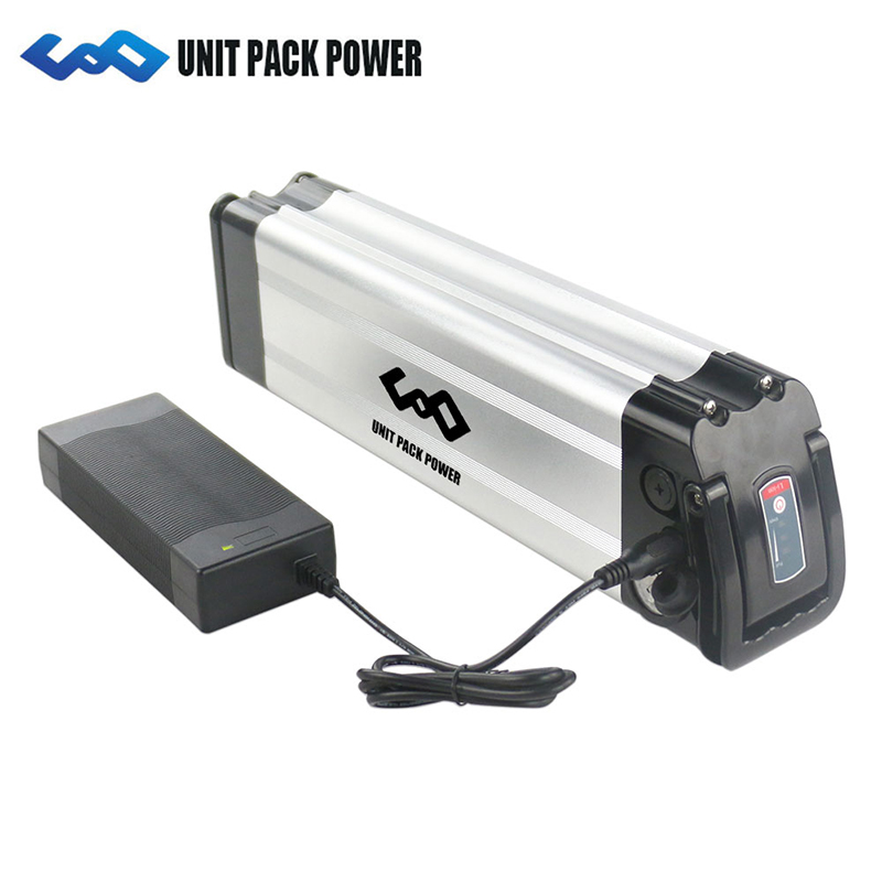 Silver Fish battery 36V 10AH 36V15Ah Lithium ion battery 36V 350W Electric Bike Battery with 42V 2A ChargerSilver Fish battery 36V 10AH 36V15Ah Lithium ion battery 36V 350W Electric Bike Battery with 42V 2A Charger