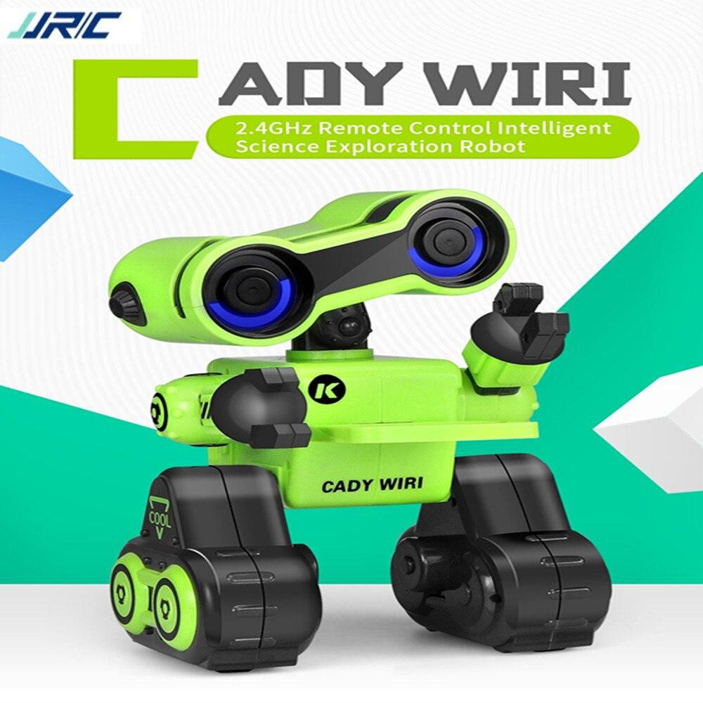 JJRC R13-YW CADY Robot WIRI puissance télécommande intelligente Science Exploration sagesse explorateur jouet cadeau avec lumières rvb
