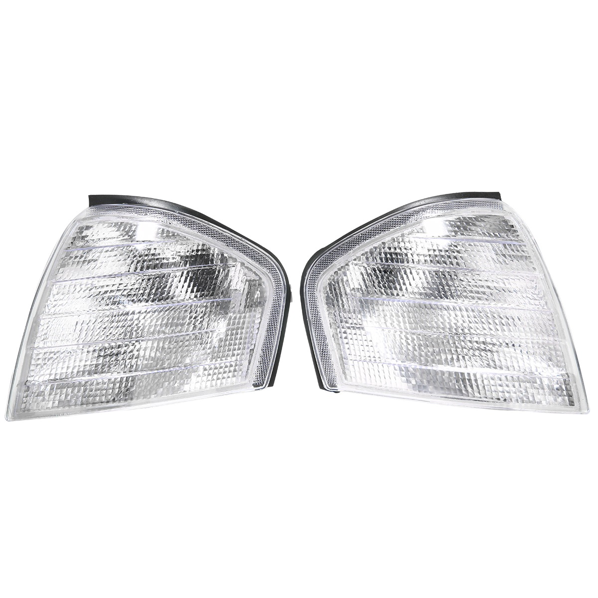 For Mercedes Benz C Class W202 1994 2000 1 Pair Clear Lens Turn Signal Corner Light Lamp Car Styling-in Signal Lamp from Automobiles & Motorcycles