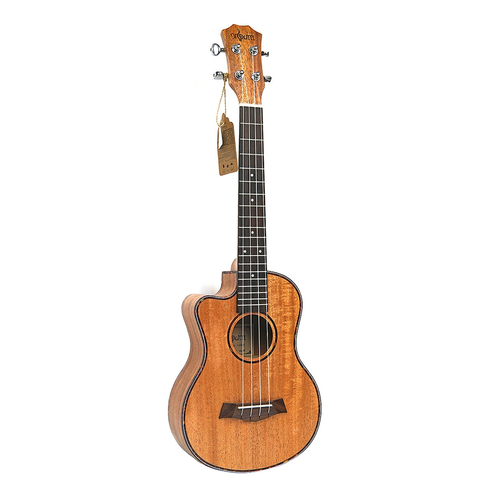 Tenor Acoustic 26 Inch Ukulele 4 Strings Guitar Travel Wood Mahogany Music Instrument