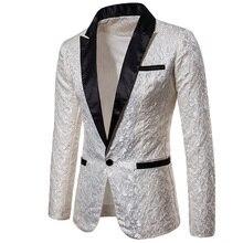 2018 Luxury Men Suit Tuxedo Blazer Slim Fit Suit Unique Mens Male Blaze