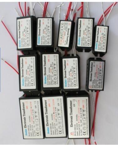 60W 80W 105W 120W 160W 180W 200W 250W AC220V To AC12V Electronic Transformer For G4 Quartz Lamp Halogen Lamp Crystal Lamp