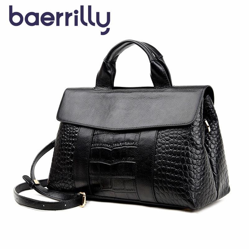Luxury Brand Genuine Leather Handbag Large capacity Ladies Shoulder Bag Crossbody Bag For Women Hot Sale