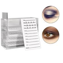 5 Layers False Eyelashes Acrylic Storage Box Organizer