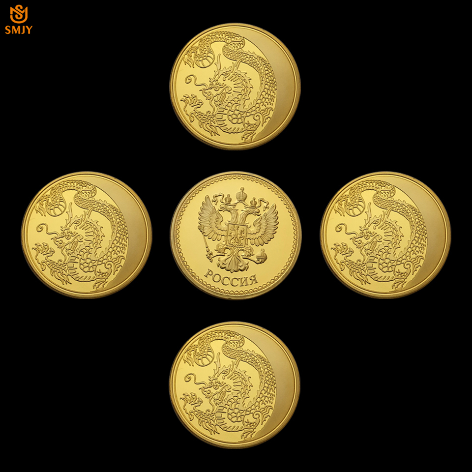 Home & Garden Persevering Gold Plated The Great War Commemorative Coin Art Collection Collectible Non-currency Coins