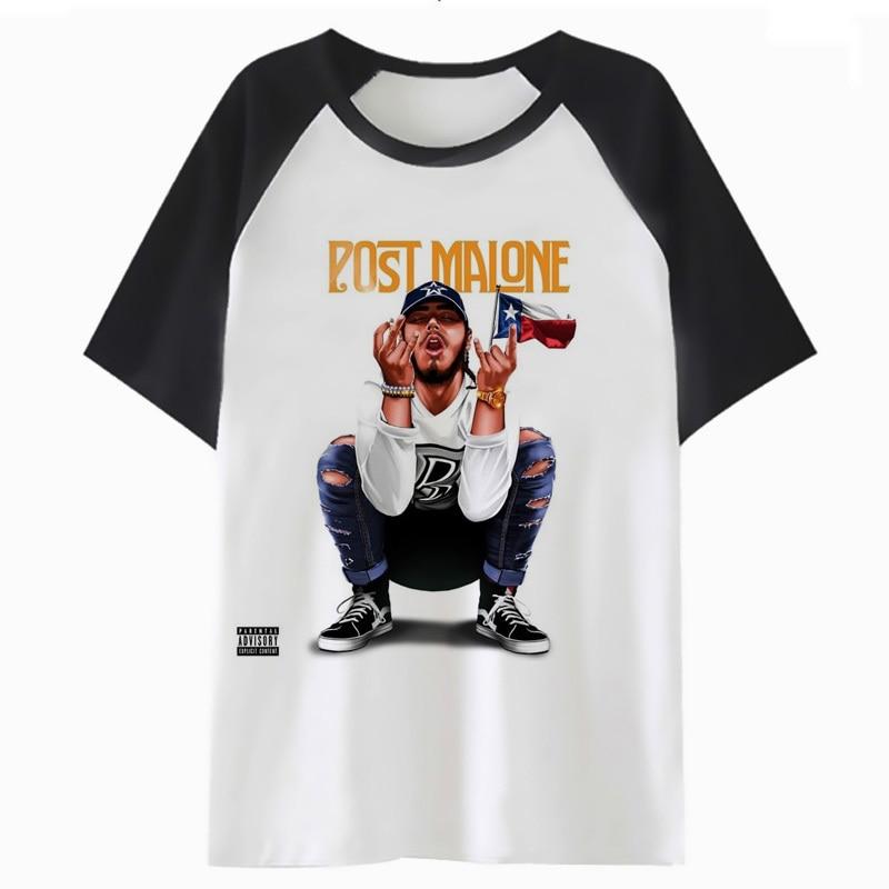 post malone   t     shirt   harajuku clothing tee hip hop for funny tshirt male men streetwear   t  -  shirt   top o4147