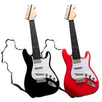 Children's Simulation Dual Mode Induction Electric Guitar With Shoulder Strap Educational Toys Music Instruments Party Toy