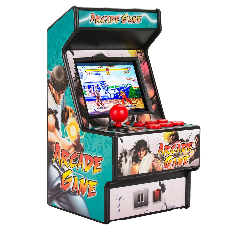 Image 2 - Wolsen 16 Bit mini Arcade games video portable retro game console arcade cabinet TV handheld game built in 156 games-in Video Game Consoles from Consumer Electronics