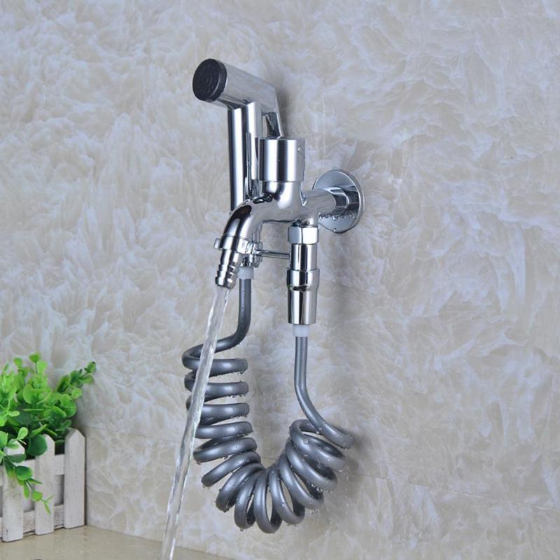 200cm Shower Hose 2m PVC Plastic Flexible Spring Shower Hose For Water Plumbing Toilet Bidet Sprayer Shower Head Hose