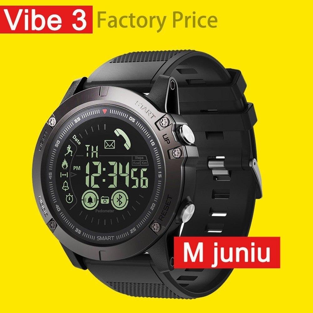 On Sale New Zeblaze Vibe 3 Smartwatch Ip67 Waterproof Wearable