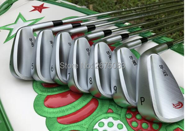 CRAZY SBi 02 Iron Set CRAZY Golf Forged Irons Golf Clubs 456789P 7PCS R S Flex Steel Shaft With Head Cover in Golf Clubs from Sports Entertainment