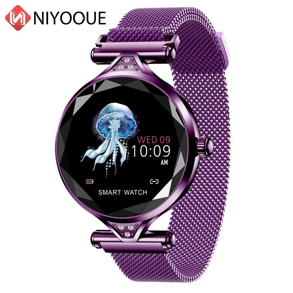 Mode Smart Armband Neue Wasserdichte Bluetooth Herzfrequenz Blutdruck Farbe Bildschirm Sport frauen Armband Uhr Geschenk