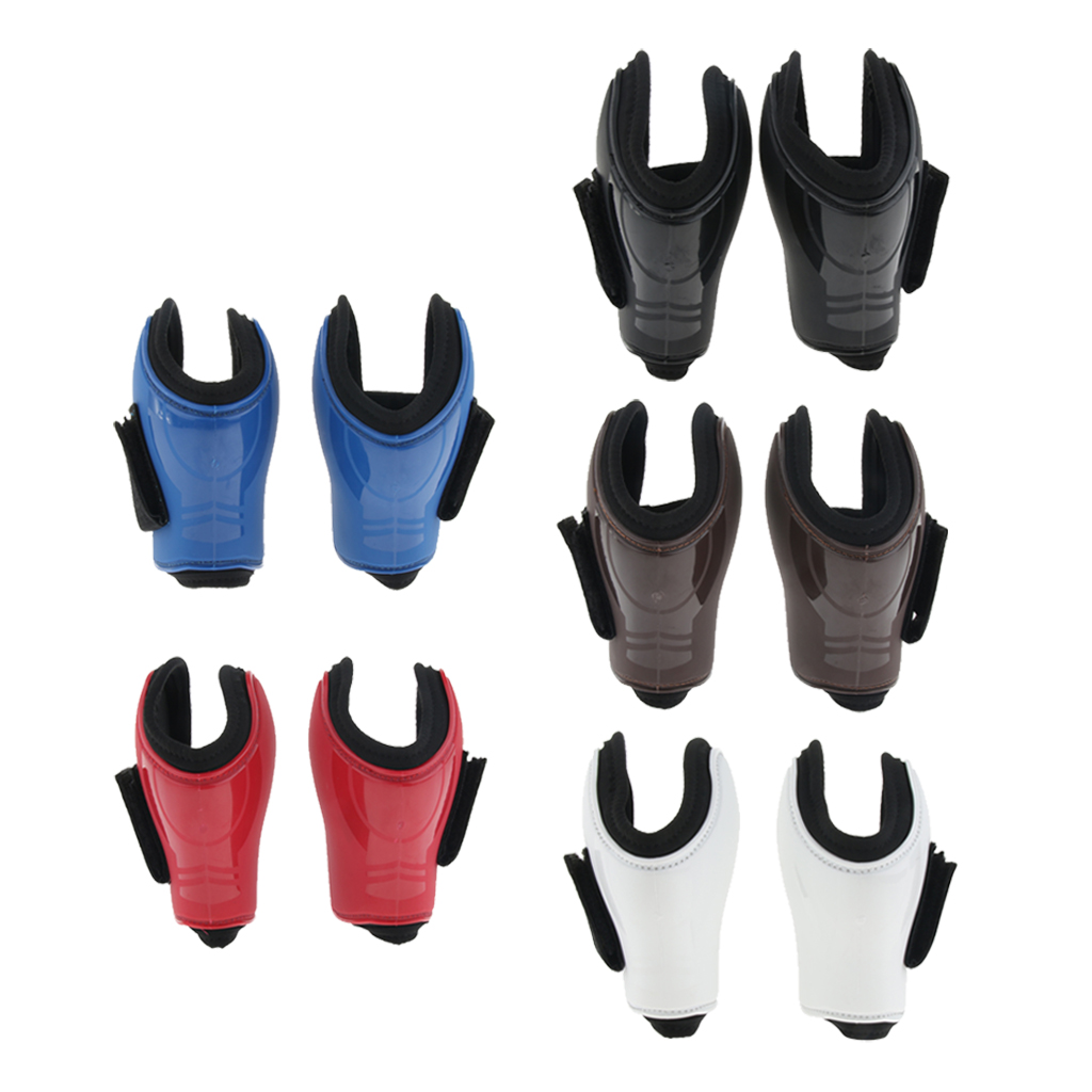 Neoprene Padded Open Hind Boots Horse Exercise Jumping Fetlock Boots