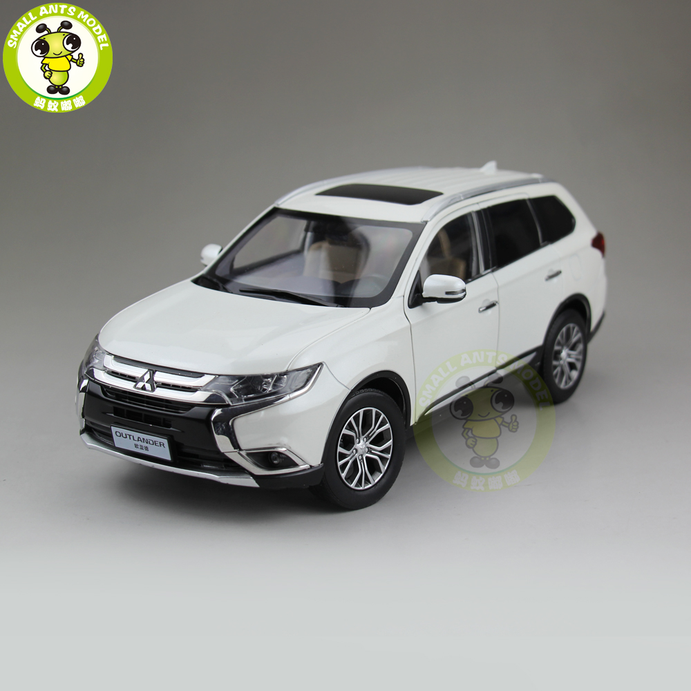 1 18 Mitsubishi OUTLANDER SUV Diecast Metal Car SUV Model Toys kids Boy Girl Gift Collection
