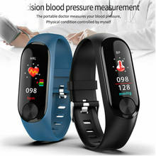 Smart Band Bracelet Wristband Fitness Tracker Blood Pressure Heart Rate Wristbands For Android iOS(China)