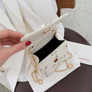 Image 4 - Bolso cruzado de cuero con perlas para mujer, bandolera pequeña de diseñador, de mano, de hombro, 2020