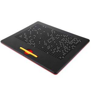 Image 3 - מגנטי קסם רישומים שלט עם כדור מגנטי עט עבור בנים ובנות
