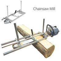 doersupp Portable Chain Saw Chainsaw Mill 36 Planking Milling Bar Size 14 to 36 Planking Lumber Cutting Tool