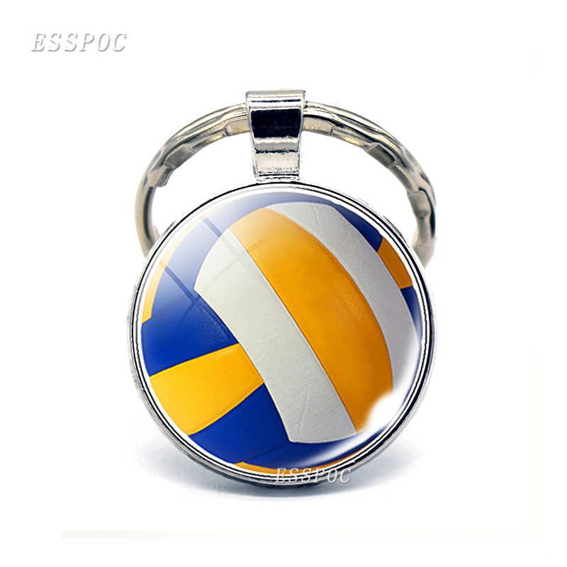 2019 nuevo llavero deportivo llavero de fútbol baloncesto pelota de Golf colgante llavero para regalo deportivo favorito