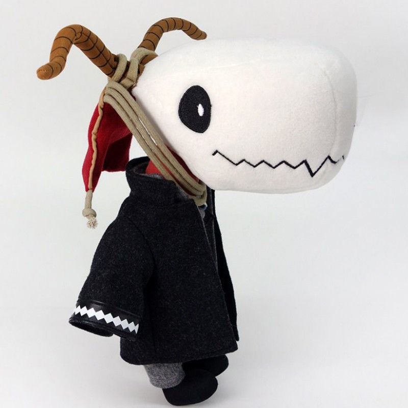 Anime Japan The Ancient Magus' Bride Hatori Chise Elias Ainsworth Plush Skull Stuffed Doll Toy Cosplay