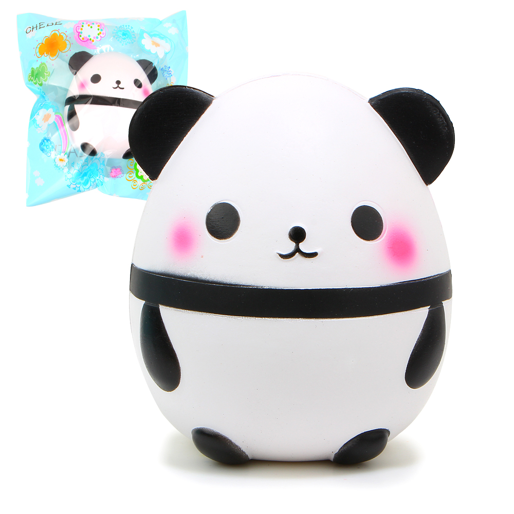 15cm Hot Kawaii Jumbo Panda Squishy Soft Doll Collectibles Cartoon Sweet Scented Super Slow Rising Original Packaging