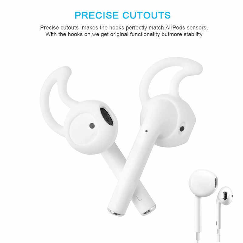 Miękkie silikonowe Sport wymiana końcówki douszne do ipoda iPhone 6/6 Plus/5/5S/5C słuchawki douszne słuchawki douszne