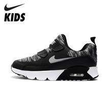Nike Kids Running Shoes Anti-slip Cushioned Children Sports Sneakers Breathable# 881927 007