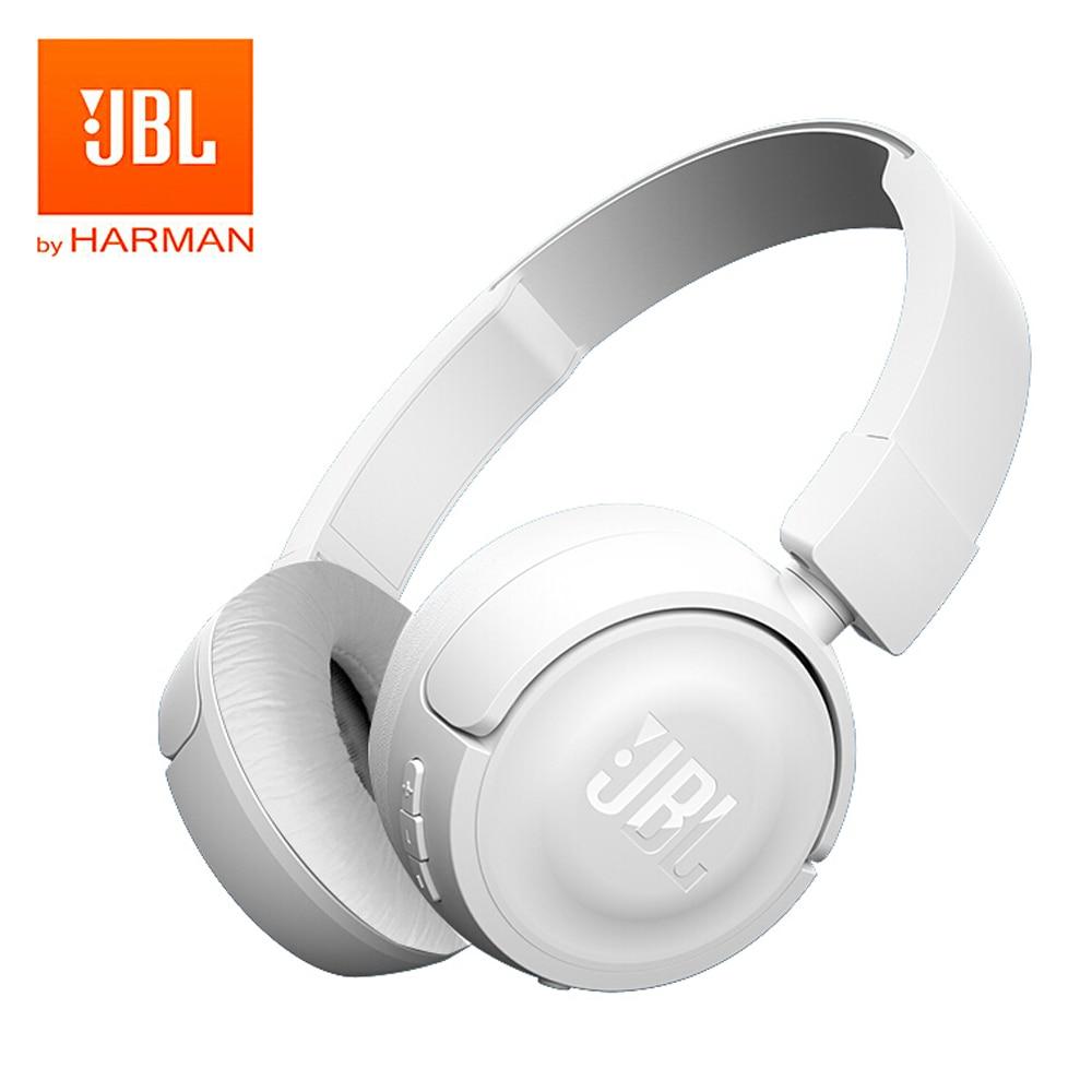 JBL T450BT Wireless Bluetooth Headphones Foldable On Ear Headset Pure Bass  Music Earphones Hands free with Mic-in Bluetooth Earphones   Headphones  from ... 41b0c4d73d